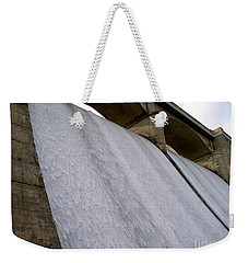 Weekender Tote Bag featuring the photograph White Sheets Of Water by Mark Dodd