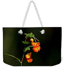 Weekender Tote Bag featuring the photograph Wild Beauty by Ramabhadran Thirupattur