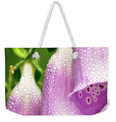 Weekender Tote Bag featuring the photograph Wild Foxglove by Albert Seger