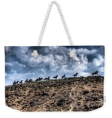 Wild Horses Monument Weekender Tote Bag by Spencer McDonald