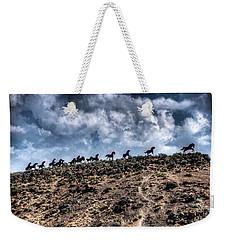 Wild Horses Monument Weekender Tote Bag