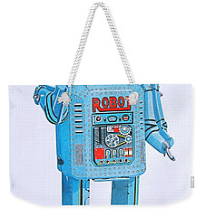 Wind-up Robot Weekender Tote Bag