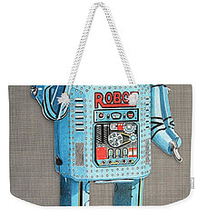 Wind-up Robot 2 Weekender Tote Bag
