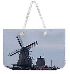 Windmill Weekender Tote Bag by Manuela Constantin