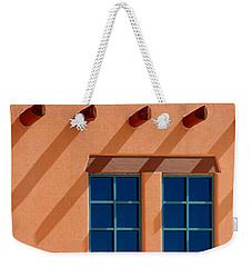 Windows Blue Weekender Tote Bag by Vicki Pelham