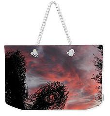 Windswept Clouds Weekender Tote Bag
