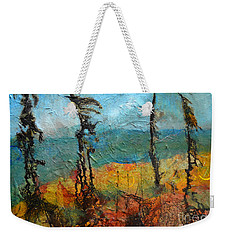 Windswept Pines Weekender Tote Bag