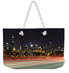 Windy City Fast Lane Weekender Tote Bag