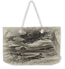 Windy Cove Bw Weekender Tote Bag