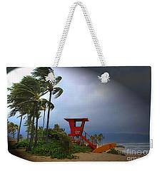 Windy Day In Haleiwa Weekender Tote Bag