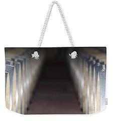 Wine Barrels In Line Weekender Tote Bag