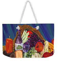 Wine Cornucopia Weekender Tote Bag
