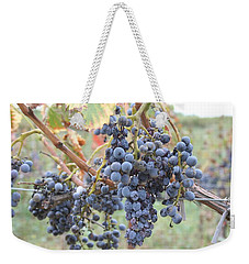 Wine Grapes In Provence Weekender Tote Bag