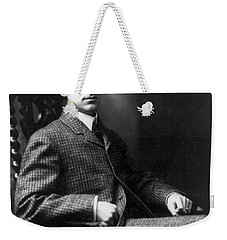 Weekender Tote Bag featuring the photograph Winston Churchill - C 1900 by International  Images
