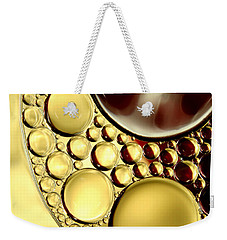 Winter Abstract Collection II Weekender Tote Bag