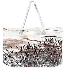 Winter Grasses Weekender Tote Bag