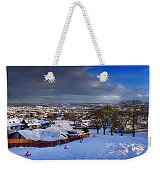 Winter In Inverness Weekender Tote Bag