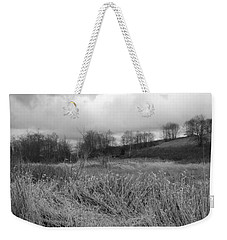 Weekender Tote Bag featuring the photograph Winters Breeze by Kathleen Grace