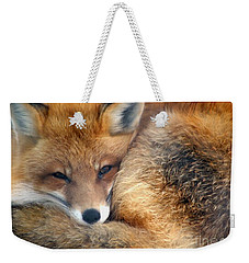 Winter's Chill Weekender Tote Bag