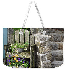 Wood And Granite Weekender Tote Bag