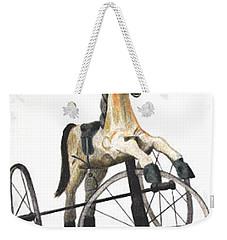 Wooden Horse Trike Weekender Tote Bag