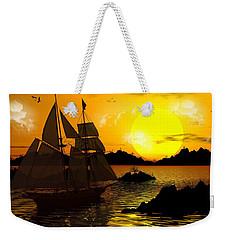 Wooden Ships Weekender Tote Bag