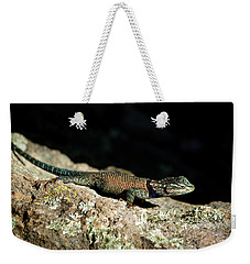 Weekender Tote Bag featuring the photograph Yarrow's  by Vicki Pelham