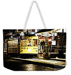 Ybor Train Weekender Tote Bag by Angelique Olin