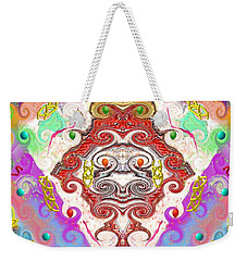 Year Of The Dragon Weekender Tote Bag by Alec Drake