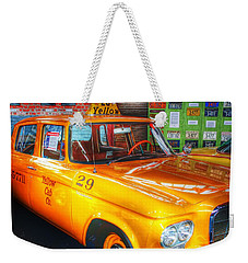 Yellow Cab No.29 Weekender Tote Bag by Dan Stone