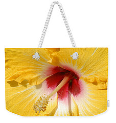 Yellow Fellow Weekender Tote Bag by Cindy Manero