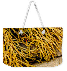 Weekender Tote Bag featuring the photograph Yellow Kelp by Brent L Ander
