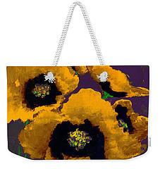 Yellow Poppies Weekender Tote Bag