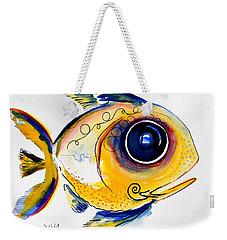 Yellow Study Fish Weekender Tote Bag
