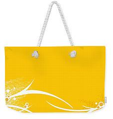 Yellow Twigs Weekender Tote Bag