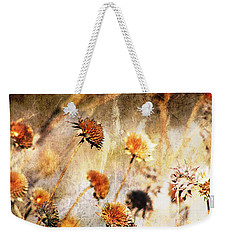 Yesterday's Flowers Weekender Tote Bag by Alyce Taylor