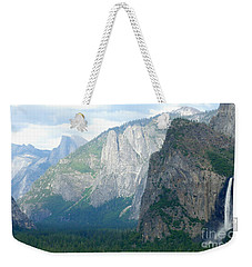 Yosemite Bridalveil Fall Weekender Tote Bag