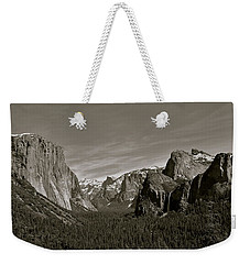 Weekender Tote Bag featuring the photograph Yosemite Valley by Eric Tressler