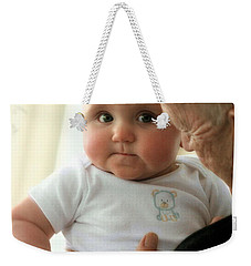 Young And Old Weekender Tote Bag