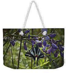 Zebra Swallowtail Butterfly 2 Weekender Tote Bag