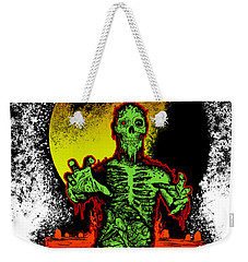 Zombie Weekender Tote Bag by Tony Koehl