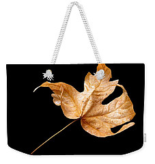 Weekender Tote Bag featuring the photograph . . Autumn Dance. . by I'ina Van Lawick