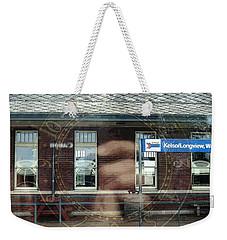 Weekender Tote Bag featuring the digital art . . Capturing Time . . by I'ina Van Lawick
