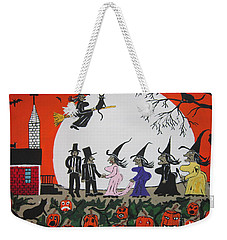 A Halloween Wedding Weekender Tote Bag