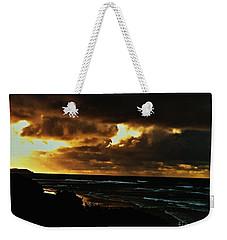 A Stormy Sunrise Weekender Tote Bag