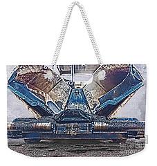 Asphalt Paver Weekender Tote Bag