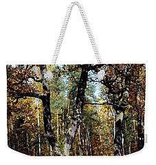 Autumn In Forest Weekender Tote Bag by Henryk Gorecki