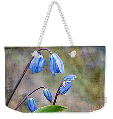 Bluebells And Beyond Weekender Tote Bag by Nina Silver