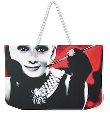 - Breakfast At Tiffannys -  Weekender Tote Bag by Luis Ludzska