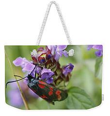 Burnet Moth Weekender Tote Bag